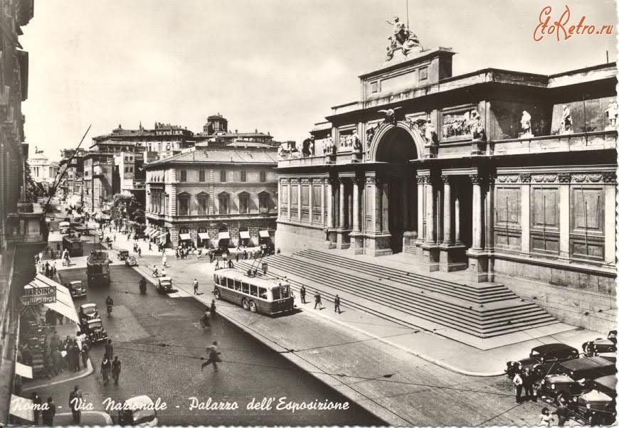 Via nazionale palazzo delle esposizioni for Palazzo delle esposizioni via nazionale roma