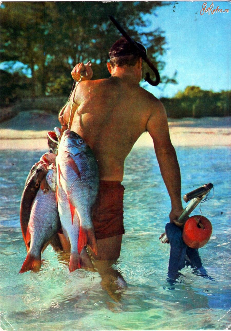 Рыбная ловля на пляже
