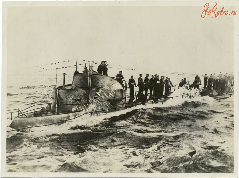 подводные лодки германии схема 21