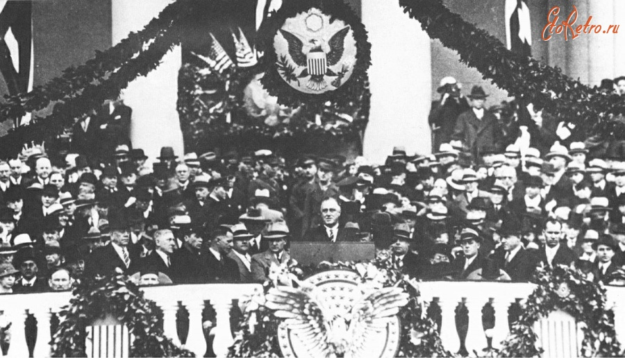 a speech based on the presidential inauguration of franklin d roosevelt The new deal: a speech delivered by president franklin d roosevelt president franklin delano roosevelt recognized the profound economic challenges facing the united states during is presidency.
