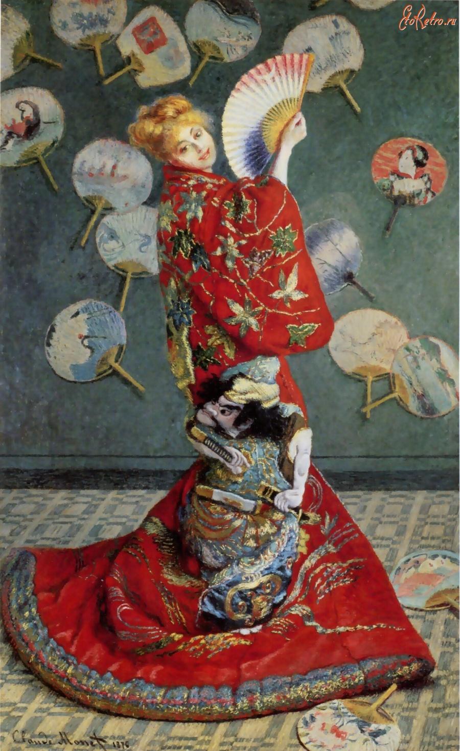 Камилла Донсье. Японка. 1875 - Разное > Картины - ЭтоРетро.ru - старые фото  городов