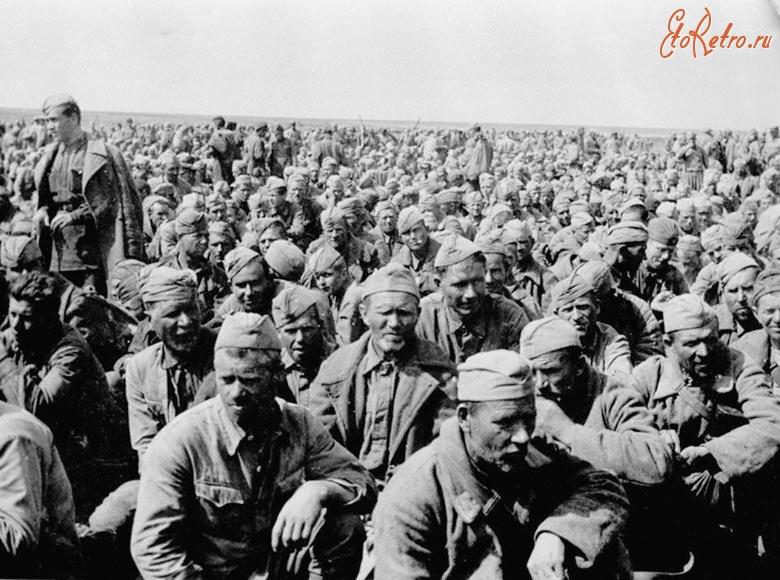 военнопленные вов советские фото