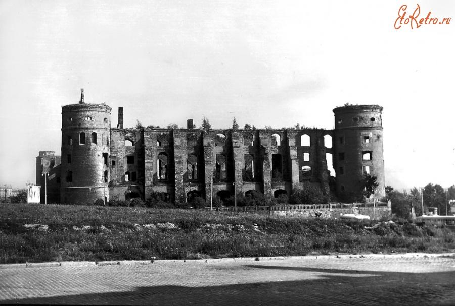 росгартенские ворота послевоенные фото иваново выполнены мягких