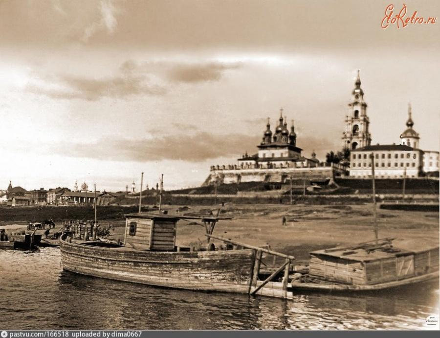 Кострома на старинной открытке, поздравительных открыток