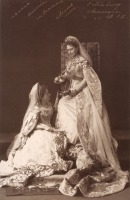Санкт-Петербург - Grand Duchess Elizabeth Feodorovna of Russia and her maid of honour Kitty 1887
