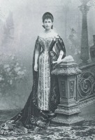 Санкт-Петербург - Eugenie Wladimirovna Woyeikoff, nee comptesse Freedericz in Russian court dress