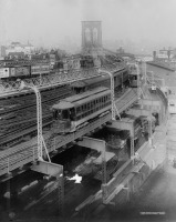 Нью-Йорк - Brooklyn Bridge railroad США, Нью-Йорк (штат), Нью-Йорк, Бруклин