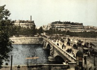 Париж - Alma bridge. Paris Франция,  Иль-де-Франс,  Париж