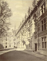 Англия - Cambridge. Gonville and Caius College, First Court (or Tree Court) Великобритания,  Англия,  Восточная Англия